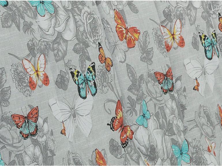 Edredom Solteiro 150 fios - Virginia Cinza - Dui Design