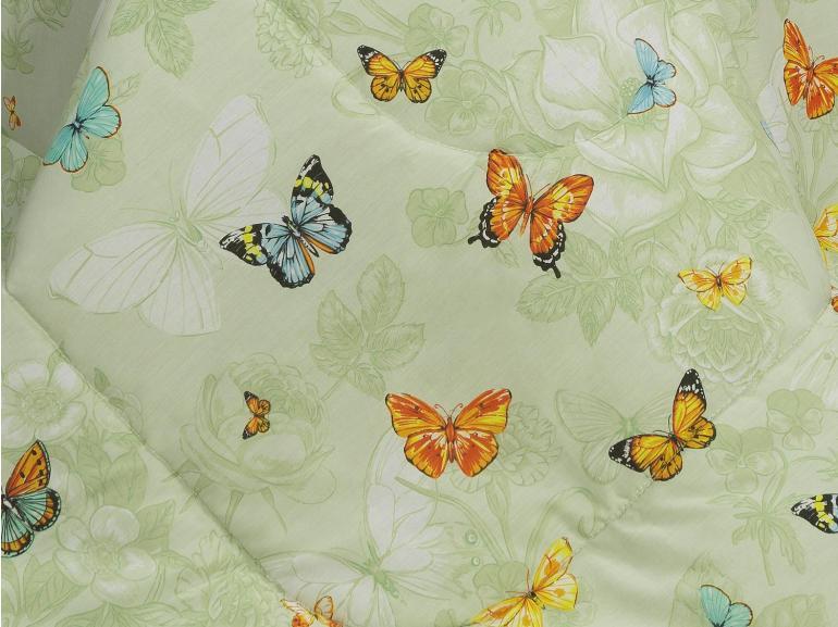 Edredom Solteiro Percal 180 fios - Virginia Verde - Dui Design