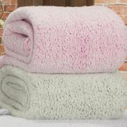 Cobertor Avulso Queen com efeito Pele de Carneiro - Sherpa Vision - Dui Design