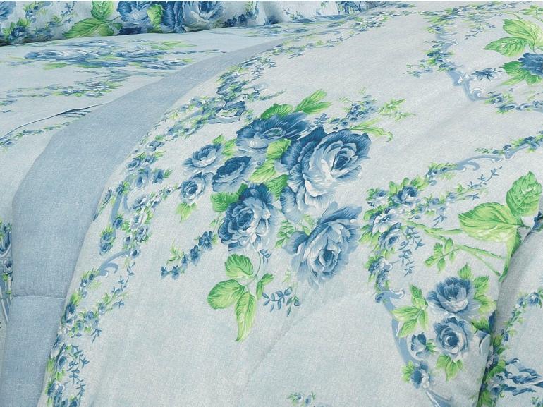 Edredom Casal 150 fios - Vitória Porcelana - Dui Design