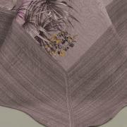 Kit: 1 Cobre-leito Casal Bouti de Microfibra Ultrasonic Estampada + 2 Porta-travesseiros - Wiki Albergine - Dui Design