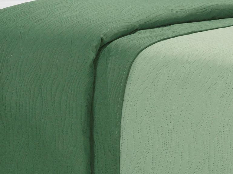Kit: 1 Cobre-leito Solteiro Bouti de Microfibra Ultrasonic + 1 Porta-travesseiro - Wood Confrei - Dui Design