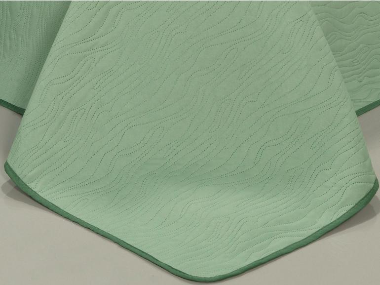 Kit: 1 Cobre-leito Casal Bouti de Microfibra Ultrasonic + 2 Porta-travesseiros - Wood Confrei - Dui Design