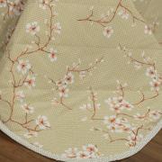 Kit: 1 Cobre-leito Solteiro + 1 Porta-travesseiro 150 fios - Yoko Bege - Dui Design