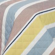 Enxoval Casal com Cobre-leito 7 peças 150 fios - Zeus Azul - Dui Design