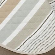 Enxoval Casal com Cobre-leito 7 peças 150 fios - Zeus Bege - Dui Design